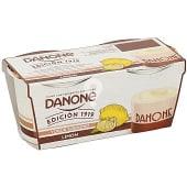 Yogur natural cremoso sabor a limón pack 2 unidades 120 gr