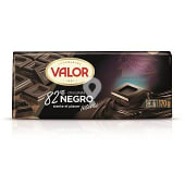 Chocolate negro intenso 82% tableta 170 gr