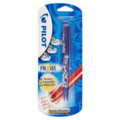 """Pilot Frixion Ball Roller """"Scrivi, Cancelli e Riscrivi"""", punta 0.7 mm, colore blu"""