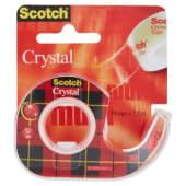 3M Scotch Crystal Clear Nastro adesivo trasparente 19mm x 7.5mt