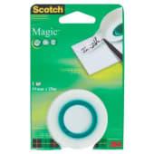 3M Scotch Magic Ricarica nastro adesivo invisibile 19mm x 25mt