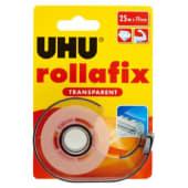 UHU Rollafix Transparent Nastro adesivo, 19mm x 25mt