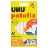 UHU Patafix Gommini adesivi removibili, 80 pezzi