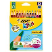 Bic Kids Evolution Matite colorate, 12 pezzi