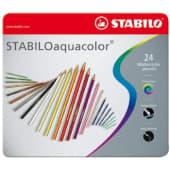 Stabilo Aquacolor Matite acquerellabili, 24 pezzi