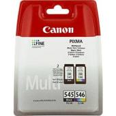 Canon Cartuccia d'inchiostro Multipack PG-545 nero / CL-546 colore