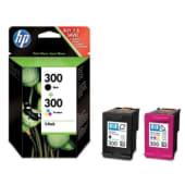 HP Cartuccia d'inchiostro Nero+Tricromia 300, nero, ciano, magenta, giallo