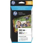 HP Cartuccia d'inchiostro Nero+Tricromia 303, nero, ciano, magenta, giallo