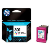 HP Cartuccia d'inchiostro Tricromia 301, ciano, magenta, giallo