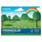 Favini Prismacolor Cartoncino monoruvido in 5 colori per gessetti, pastelli e collage, 10 fogli