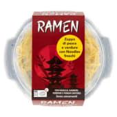 Ramen con nasello gamberi verdure e funghi shiitake, 460 g