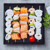 Esselunga, spiedini di pesce assortiti 4 porzioni, 700 g