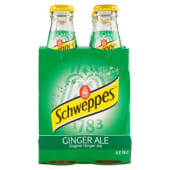 Schweppes, Ginger Ale conf. 4x18 cl