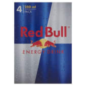Red Bull, Energy drink conf. 4x250 ml