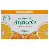 Esselunga, nettare di arancia conf. 6x200 ml