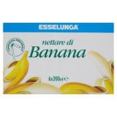 Esselunga, nettare di banana conf. 6x200 ml