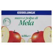 Esselunga, succo e polpa di mela conf. 6x200 ml