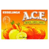 Esselunga, bevanda a base di succo di A.C.E. conf. 6x200 ml, ace