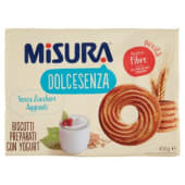 Misura, Dolcesenza biscotti preparati con yogurt 400 g