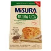 Misura, Natura Ricca biscotti con zenzero quinoa e semi di chia 250 g