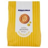 Esselunga, frollini all'uovo 800 g