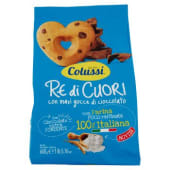 Colussi, Re di Cuori frollini con maxi gocce di cioccolato 600 g