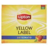 Lipton Yellow Label Tea, deteinato 50 filtri 75 g