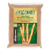 Altromercato Bio, Mascobado zucchero di canna integrale dalle Filippine 500 g