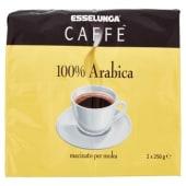 Esselunga, caffè 100% arabica conf. 2x250 g