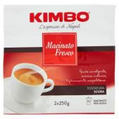 Kimbo, Macinato Fresco conf. 2X250 g