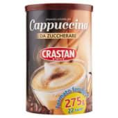 Crastan, preparato solubile per cappuccino da zuccherare 275 g