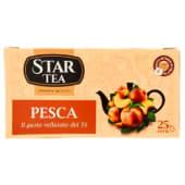 Star Tea, tè nero alla pesca 25 filtri 42,5 g
