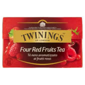 Twinings, Four Red Fruits Tea 20 filtri 40 g