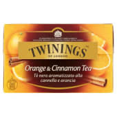 Twinings, Orange & Cinnamon Tea 20 filtri 40 g