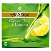 Twinings, Green Tea & Lemon 50 filtri 100 g