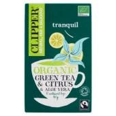 Clipper, Citrus & Aloe Vera Green Tea 20 filtri 40 g
