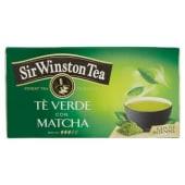 Sir Winston Tea, Tè verde con matcha 20 filtri 37 g