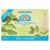 Esselunga Bio, Menta piperita per infuso 16 filtri 24 g