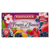 Pompadour, Frutti di bosco per infuso 20 filtri 60 g