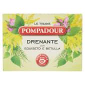 Pompadour, Le Tisane Drenante 15 filtri 30 g