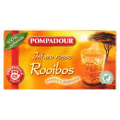 Pompadour, Infuso rosso rooibos 20 filtri 35 g