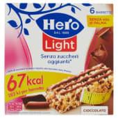 Hero, Light Muesly cioccolato barrette conf. 7x20 g