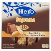 Hero, MueslySupreme arachidi e cioccolato al latte barrette conf. 4x24 g