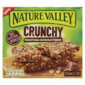 Nature Valley, Crunchy fiocchi d'avena con cioccolato fondente barrette conf. 5x42 g