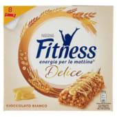 Nestlé, Fitness Delice cioccolato bianco barrette conf. 8x22,5 g