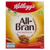 Kellogg's, All Bran Plus bastoncini 375 g