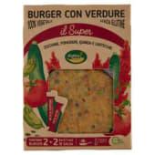 Cottin Tavola, Il Super burger con verdure conf. 2x120 g + bustina di salsa conf. 2x15 g