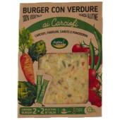 Cottin Tavola, burger con verdure ai carciofi conf. 2x120 g + bustine di salsa conf. 2x15 g