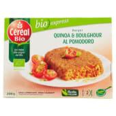 Céréal Bio, Bio express burger & boulghour al pomodoro conf. 2x100