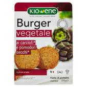 Kioene, burger vegetale ai carciofi e pomodori secchi* 200 g